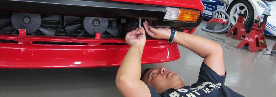 Beginning Restoration   Ferrari 308 GTB